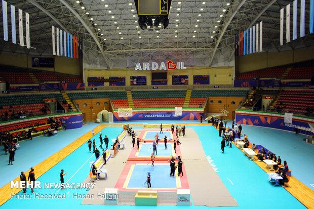 مسابقات انتخابی تیم ملی اسپوکس کشور در اردبیل