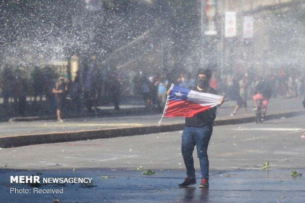 ادامه اعتراضات ضد دولتی در شیلی