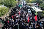 پیکر شهید مدافع امنیت وطن در ملارد تشییع شد