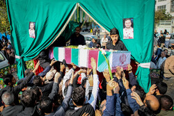 مدافع حرم شہید حامد سلطانی کی تشییع جنازہ