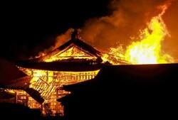کراچی میں آئل فیکٹری میں آگ لگ گئی