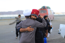 Mawkib in S Khorasan welcomes Pakistani pilgrims
