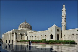 A view of Sultan Qaboos Grand Mosque in Oman