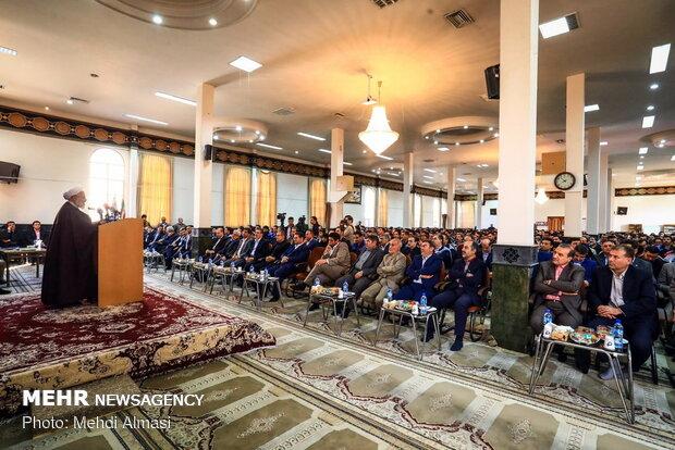سفر رضا رحمانی وزیر صنعت، معدن و تجارت به زنجان