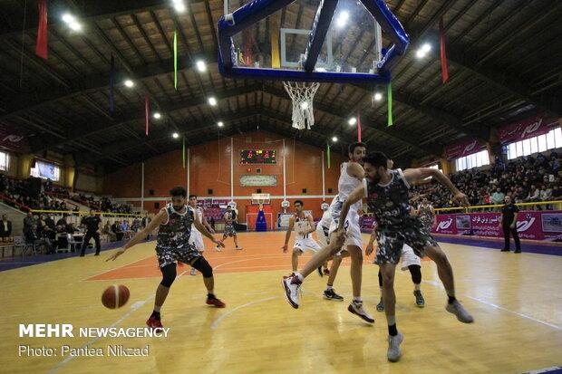 تیم بسکتبال شهرداری قزوین به مصاف اکسون تهران می رود