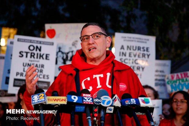 اعتصاب معلمان در شیکاگو