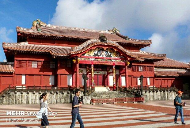 آتش سوزی در قلعه تاریخی ژاپن