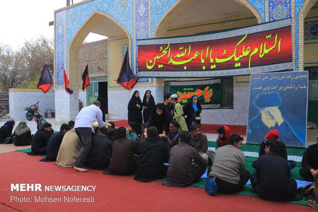 موکب پذیرایی از زائران پاکستانی در خراسMawkib in S Khorasan welcomes Pakistani pilgrims ان جنوبی