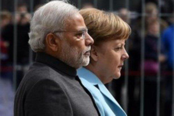 توافق آلمان- هند برای گسترش روابط دوجانبه
