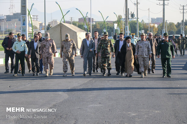 To Beit al-Muqaddas wargame in West Azarbaijan