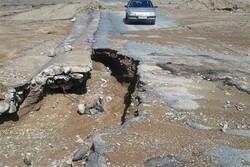هشت ماه پس از سیلاب همچنان جاده شهداد - نهبندان بسته است