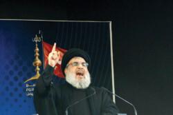 Secretary-General of Lebanon's Hezbollah Hassan Nasrallah