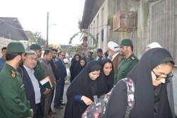 ۲۴۵ دانش آموز بسیجی صومعه سرا به مناطق عملیاتی اعزام شدند