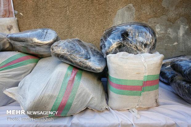 افزایش ۲۰۰ درصدی کشفیات مواد مخدر در شهرستان مهران