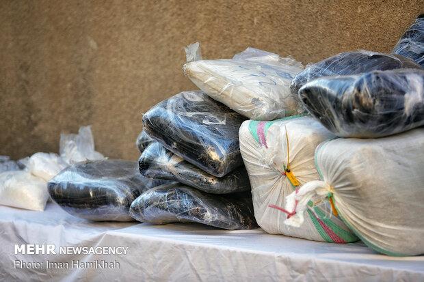 عملیات مشترک پلیس بوشهر و فارس/ ۵۹ کیلوگرم تریاک کشف شد