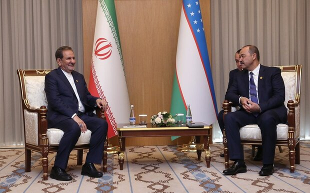 Iran's 1st VP calls for expansion of economic, trade ties with Uzbekistan