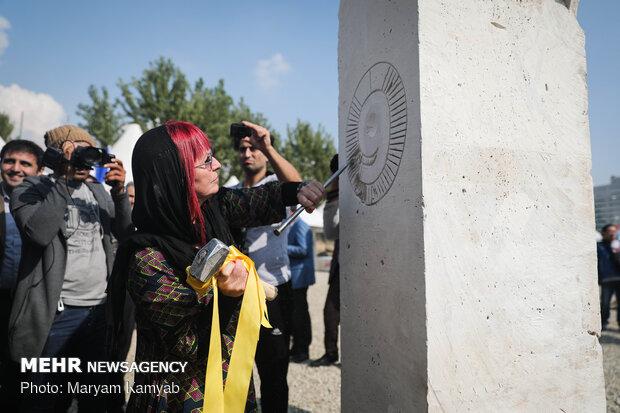 Intl. sculpture symposium kicks off in Tehran