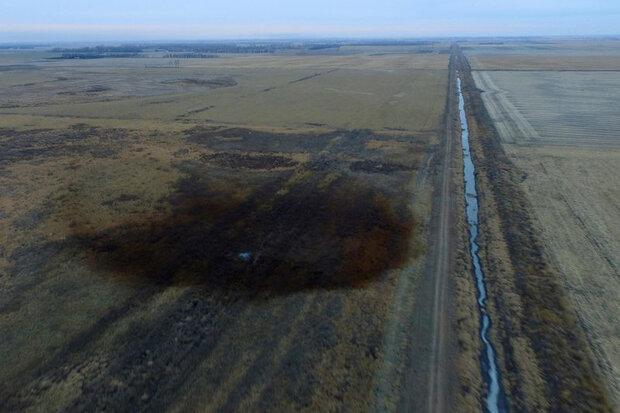 ترک خطلوله باعث نشت ۹۰۰۰ بشکه نفت در داکوتای شمالی شد