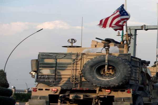 خروج ۵۵ خودرو حامل تجهیزات نظامی آمریکایی از سوریه به سمت عراق