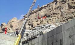 مرگ کارگر جوان بر اثر سقوط از ارتفاع در آزادراه تهران شمال