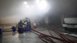 نجات یک زن و ۲ کودک از آتش سوزی خیابان ابوذر