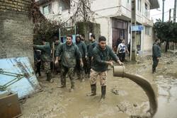 """أضرار السيل في منطقة """"بندركز""""و""""نوكنده""""في محافظة كلستان /صور"""