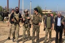 امریکی فوجی شام کے تیل کے کنوؤں کے پاس