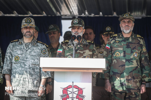 Closing ceremony of Army Special Forces training courses