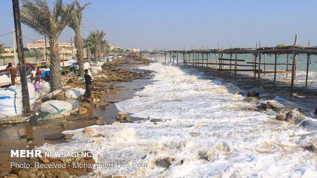 طوفان بیش از ۲۰ میلیارد تومان به پارسیان خسارت وارد کرد