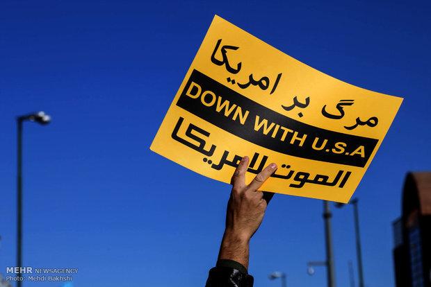 """İran'da """"Küresel Emperyalizme Karşı Milli Mücadele Günü"""""""