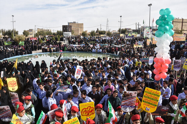 مردم گلستان به راهپیمایی ۱۳ آبان دعوت شدند