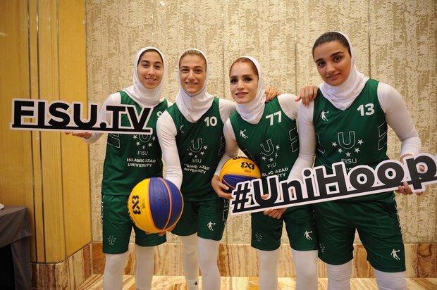 Iran wins bronze at FISU 3x3 World Cup