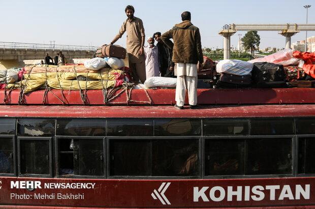 حضور زائران پاکستانی در قم