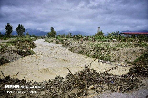 Flood hits Golestan province