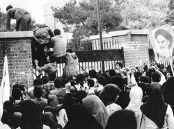 US Embassy takeover Great Satan's defeat of Iranian nation