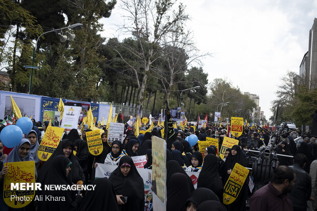 Anti-US rallies in Tehran