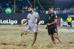 Iran start Inl. Beach Soccer Cup on high