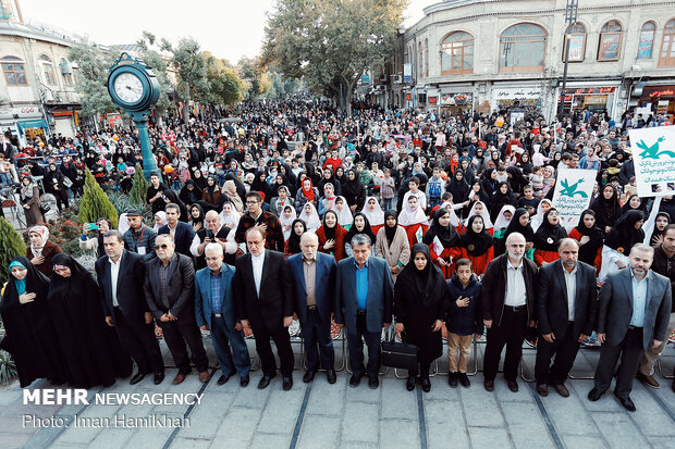 26th Intl. Children, Young Adults Theater Festival kicks off in Hamedan prov.