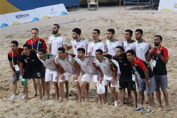Iran reaches Dubai Beach Soccer Cup final after beating UAE on penalty shootouts