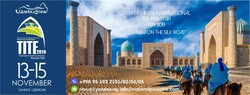 A poster for the 25th Tashkent International Tourism Fair (TITF 2019)