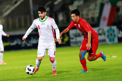 Iran football beats UAE at 2020 AFC U19 Championship Qualifiers