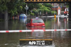 VIDEO: North England hit by torrential rain and flooding
