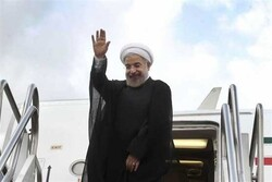 Rouhani leaves Tokyo for Tehran