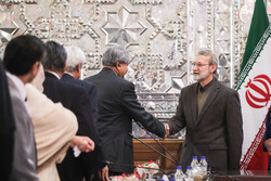 Larijani's meeting with Pakistani parl. delegation