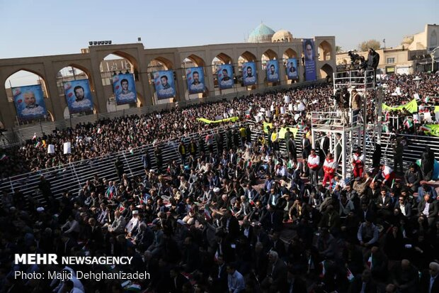 President Rouhani delivers speech in Yazd