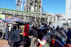 Pres. Rouhani inaugurates 1st phase of Baft Steel Complex in Kerman prov.