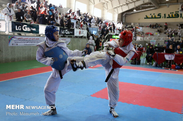 National Girls Taekwondo Championship wraps up in Babolsar