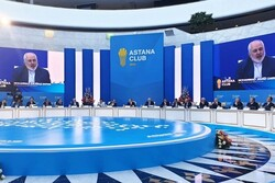FM Zarif addresses Astana Club 2019 in Kazakhstan