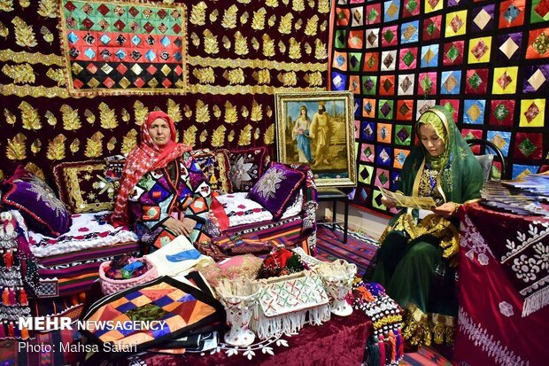 13th festival of Iranian ethnic groups in Golestan