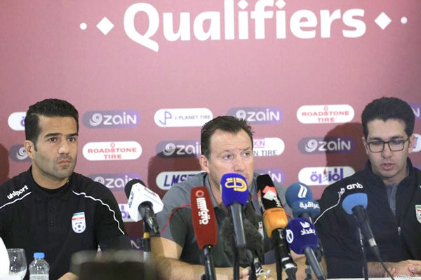 Marc Wilmots says Iran 'focused' on match against Iraq